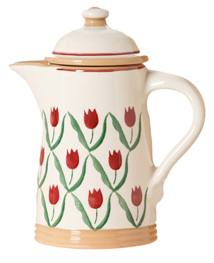 Nicholas Mosse Coffee Pot Red Tulip