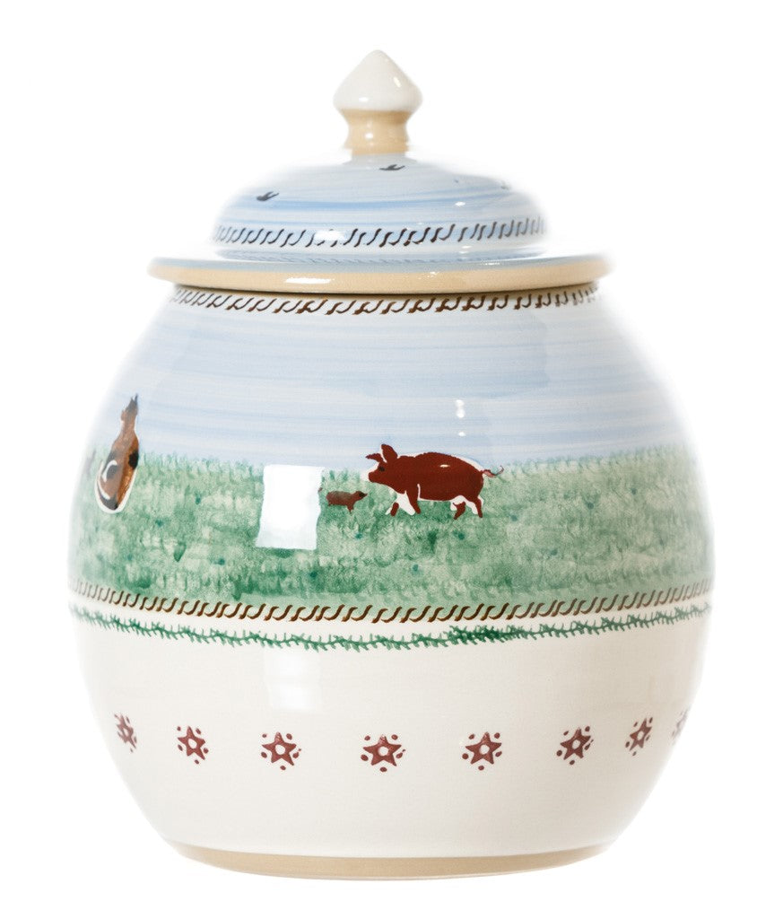 Cookie jar assorted landscape