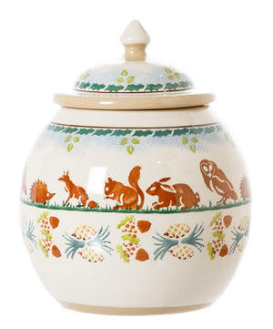 Cookie Jar Woodland by Nicholas Mosse Pottery - Ireland - Handmade Irish Craft