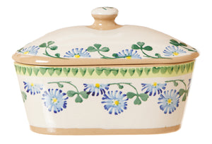 Nicholas Mosse Covered Butterdish Clover