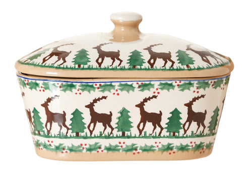 COVERED BUTTERDISH REINDEER
