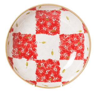 Nicholas Mosse Everyday Bowl Red/White Chess