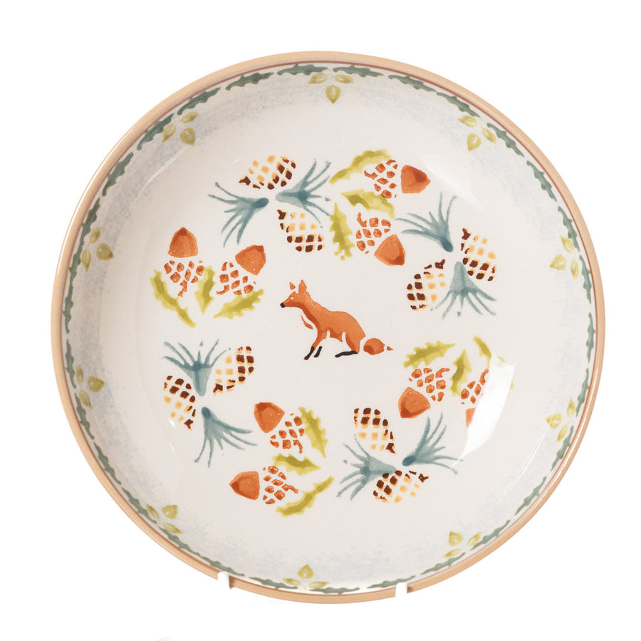 Nicholas Mosse Woodland Fox Everyday Bowl