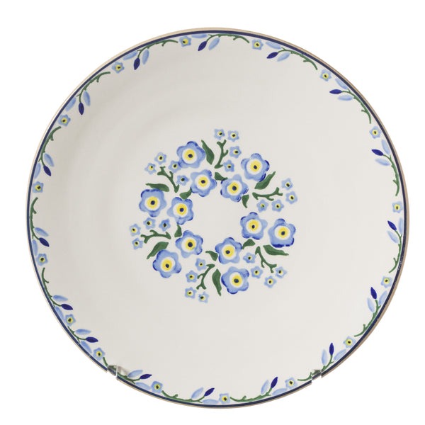2 Everyday Plates Forget Me Not
