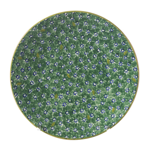 Everyday Plate Lawn Green spongeware by Nicholas Mosse Pottery - Ireland - Handmade Irish Craft