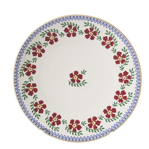 2 Everyday Plates Old Rose