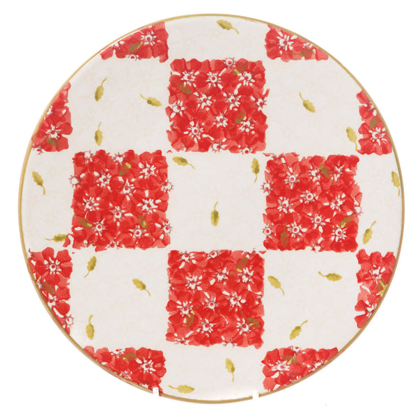 Nicholas Mosse Everyday Plate Red/White Chess