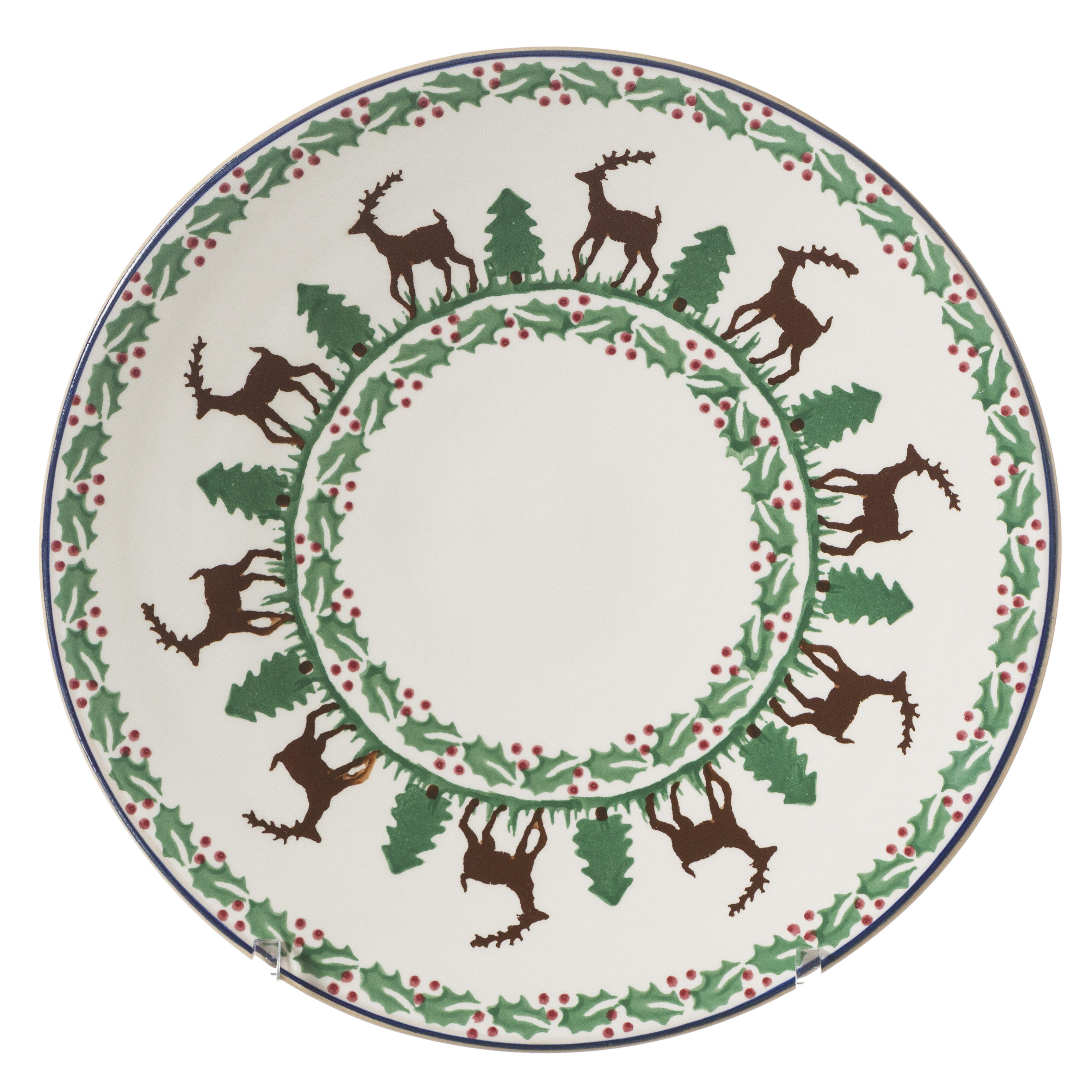2 Everyday Plates Reindeer  sc 1 st  Nicholas Mosse Pottery : everyday tableware - Pezcame.Com