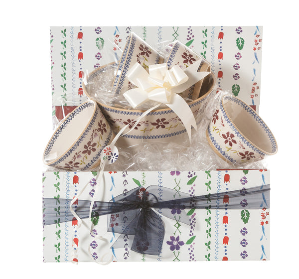 Nicholas Mosse Angled Bowl Gift Set Clematis