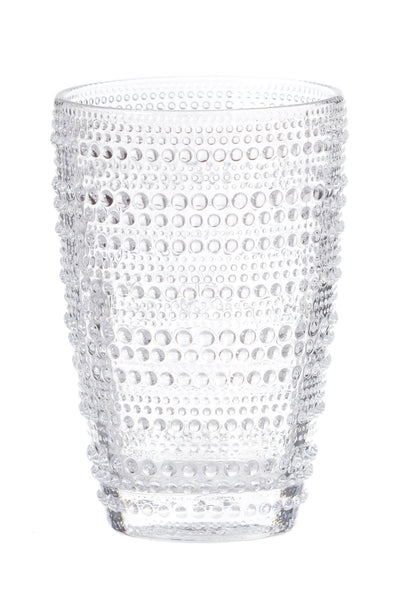 Glass Hobnail Tumbler Clear