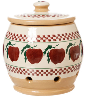Garlic Jar Apple Nicholas Mosse Pottery handcrafted spongeware Ireland