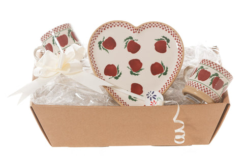 HEART GIFT SET IN APPLE