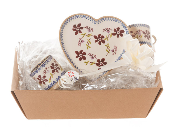 Nicholas Mosse Heart Gift Set In Clematis