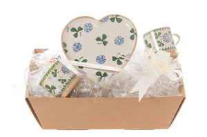 Nicholas Mosse Heart Gift Set In Clover