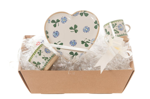 HEART GIFT SET IN CLOVER