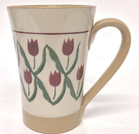 Tall Mug Red Tulip