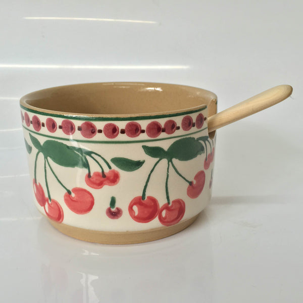 Nicholas Mosse Relish Bowl Single Cherry With Spoon