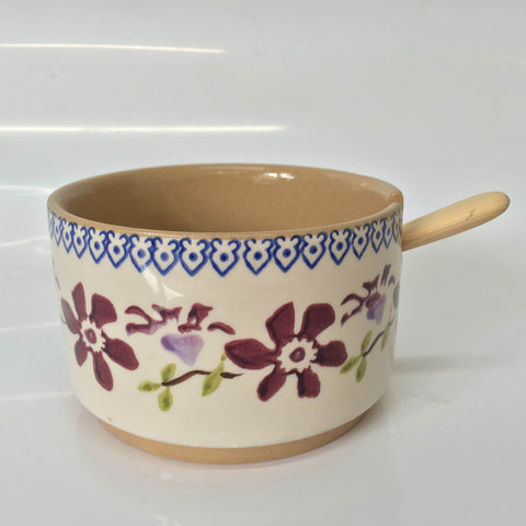Nicholas Mosse Relish Bowl Single Clematis With Spoon