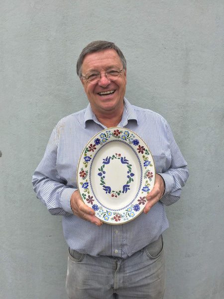 40th ANNIVERSARY SMALL OVAL SERVING DISH