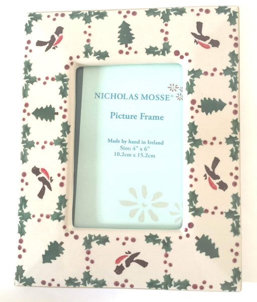 Nicholas Mosse Picture Frame Winter Robin