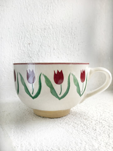 Cappuccino Cup Red Tulip
