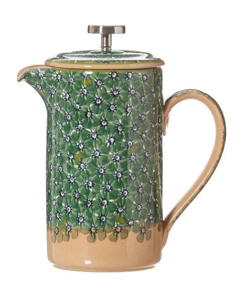 Nicholas Mosse Large Cafetiere Lawn Green