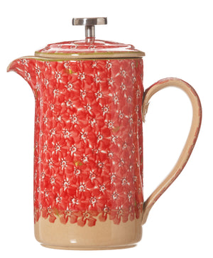 Nicholas Mosse Large Cafetiere Lawn Red