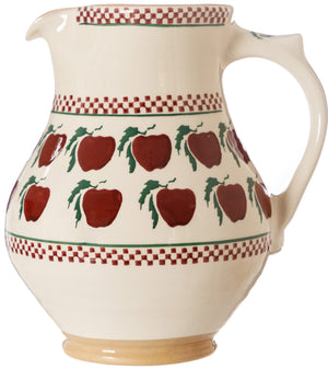 Large Jug Apple spongeware pottery by Nicholas Mosse, Ireland - Handmade Irish Craft - nicholasmosse.com