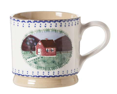 Nicholas Mosse Large Mug Farmhouse spongeware pottery by Nicholas Mosse Pottery - Ireland - Handmade Irish Craft