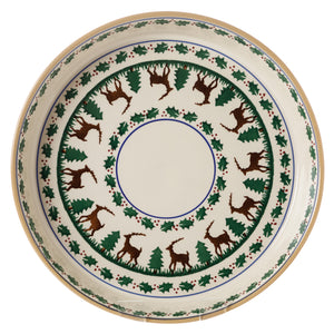 Large Quiche Dish Reindeer