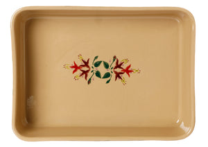 Large Rectangular Oven Dish Fuchsia