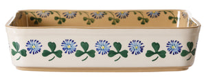 Large Rectangular Oven Dish Clover