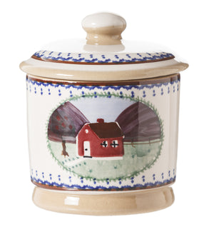 Lidded Sugar Farmhouse spongeware by Nicholas Mosse Pottery - Ireland - Handmade Irish Craft