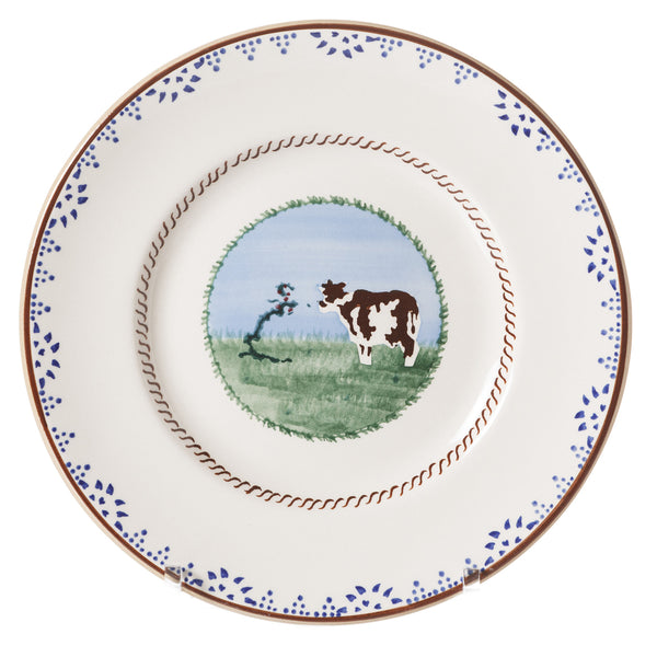 LUNCH PLATE COW