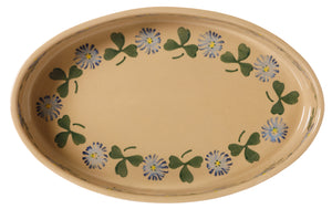 Medium Oval Oven Dish Clover