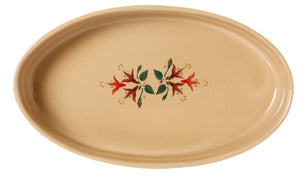 Medium Oval Oven Dish Fuchsia