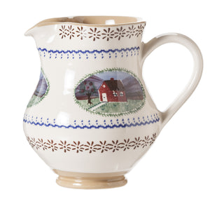 Medium Jug Farmhouse spongeware pottery by Nicholas Mosse, Ireland - Handmade Irish Craft - nicholasmosse.com