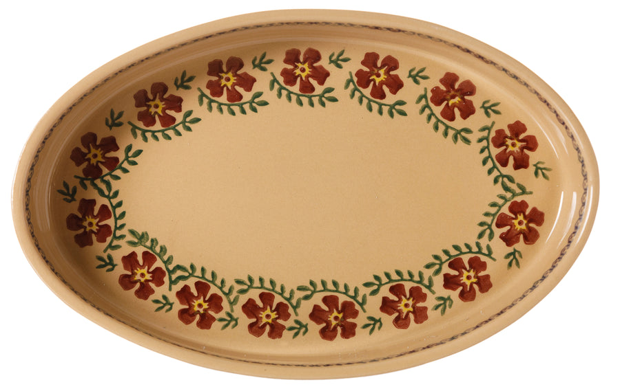 Medium Oval Oven Dish Old Rose