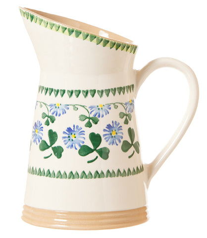 MEDIUM ANGLED JUG CLOVER