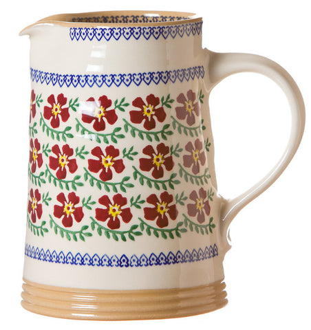 MEDIUM CYLINDER JUG OLD ROSE