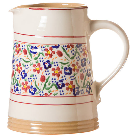 MEDIUM CYLINDER JUG WILD FLOWER MEADOW