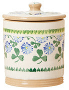 MEDIUM STORAGE JAR (2LB) CLOVER