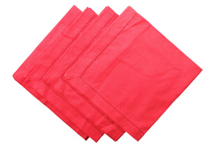 Nicholas Mosse Napkin Smooth Dark Pink Colour