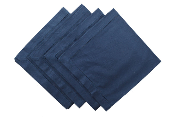 Nicholas Mosse Napkin Smooth Navy Colour