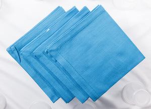 Nicholas Mosse Napkin Textured Blue Colour