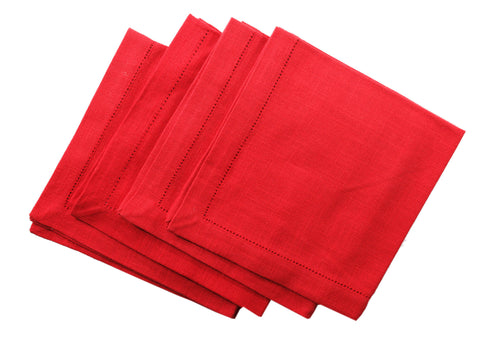 Nicholas Mosse Napkin Textured Red Colour