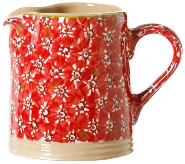 Small Cylinder Jug Red Lawn