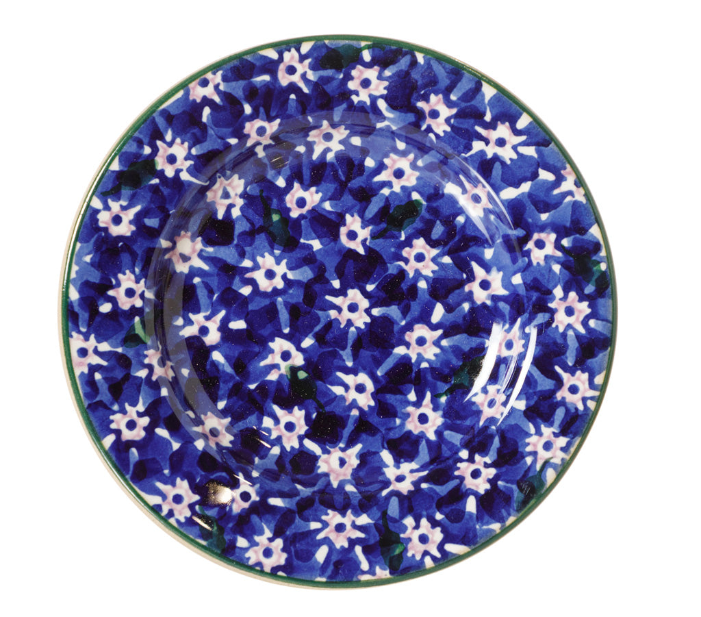 Tiny Plate Dark Blue Lawn