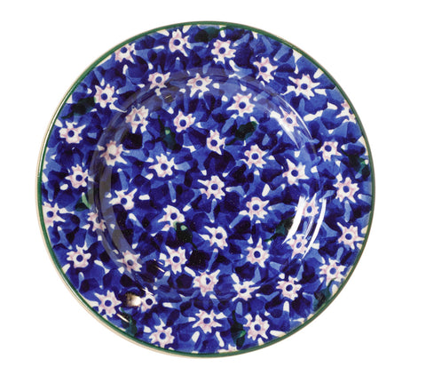 NMP 2018 Tiny Plate Dark Blue Lawn-Ireland - Handmade Irish Craft