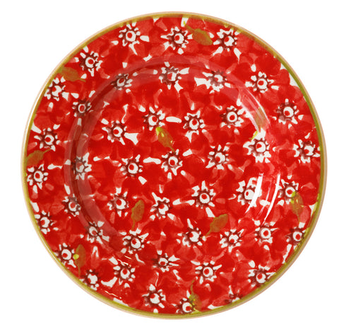 NMP 2018 Tiny Plate Red Lawn-Ireland - Handmade Irish Craft